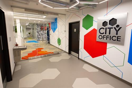 Welcome to City Office! Downtown Bay City's home for entrepreneurs, freelancers, work-from-homers, folks on the road, and everyone in between!