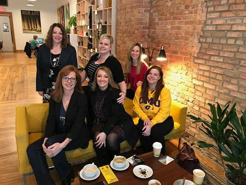 Coffee & Conversation, a Women in Leadership Connect Club