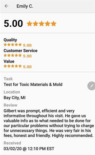 Review/ Mold Inspection