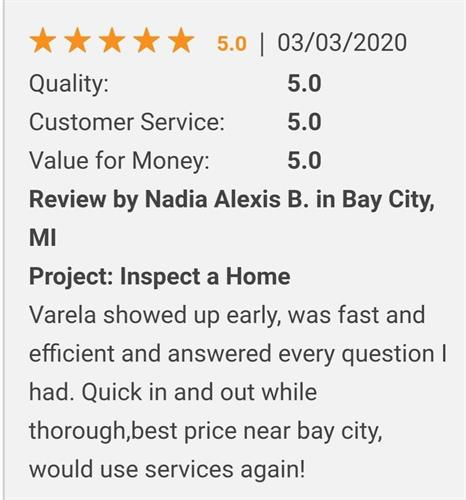Review/Home Inspection