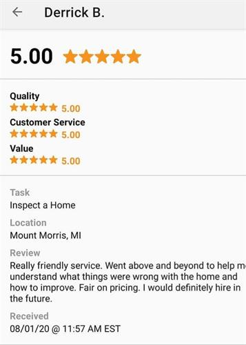 Review/ Home Inspection
