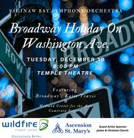 Celebrate A Broadway Holiday on Washington Ave with the SBSO