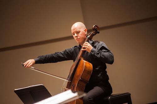 Principal Cellist Igor Cetkovik