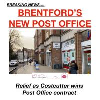 Post Office back Brentford #MyHighStreet @TheGBHighSt #GBHighSt