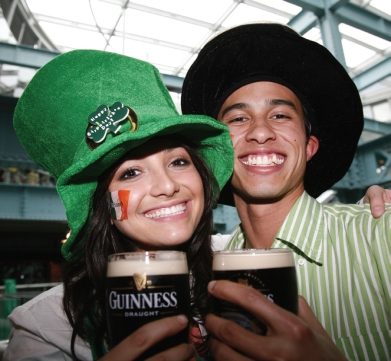 St Patrick's Day in Ireland