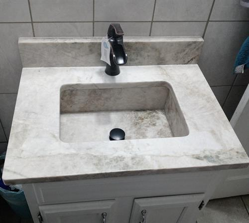 Taj Mahal Vanity Sink