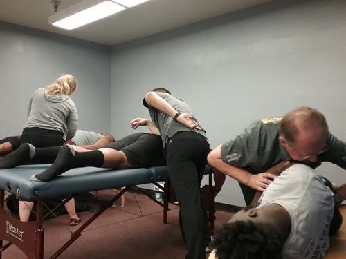 Post Game Treatment for the Duke City Gladiators