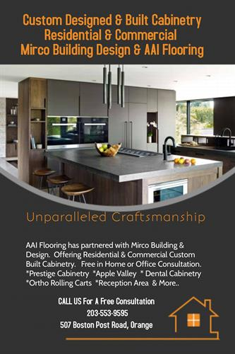 AAI Flooring now offers Kitchen Cabinets