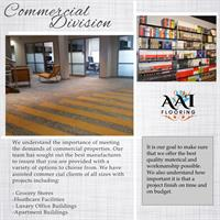 Commercial Divison At AAI Flooring