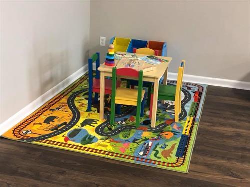 Kids Corner Inside Office