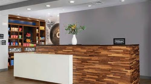 Lobby Front Desk - Digital Check-In & Digital Key available