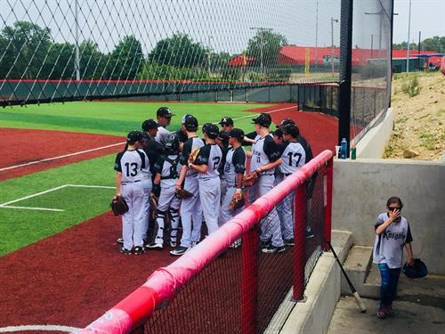 Coaching Baseball in Branson