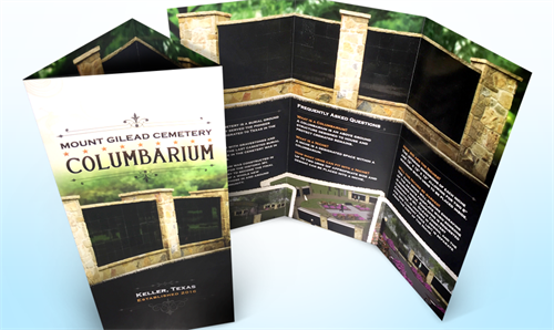 Tri-fold Brochure - Printed Media Design and Production