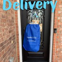 One of our valets will drop off your items when they are ready.