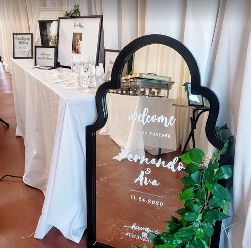 Micro-Wedding Reception