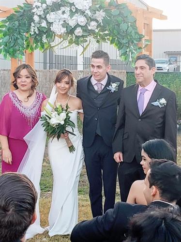 Outdoor Micro-Wedding