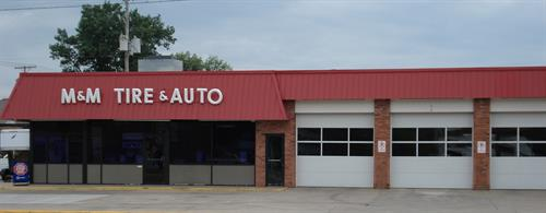 M&M Tire & Auto Building