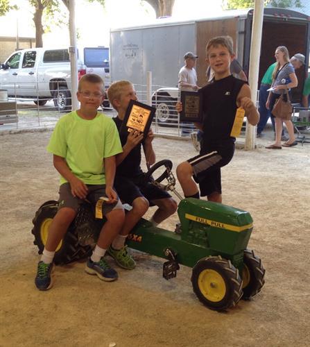 2014 CKFF Pedal Pull Sponsor