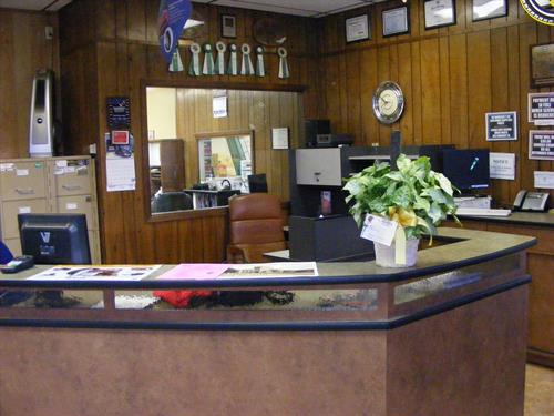 2009 New Service Counter