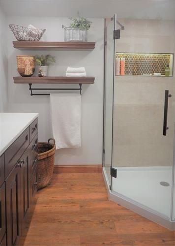 Farmhouse Bathroom Remodel, Abilene