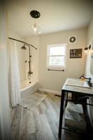 Farmhouse Bathroom with Subway tile, Abilene