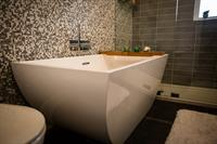 Freestanding Tub in Classy Bathroom Renovation, Abilene