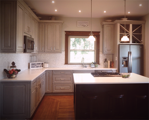 Stately Farmhouse Kitchen Remodel, Abilene