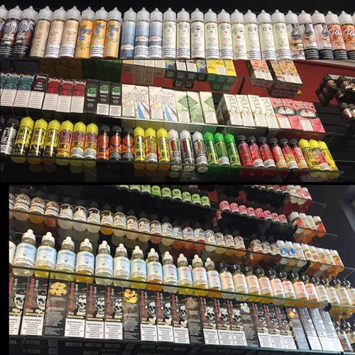 We have over 150 premium e-liquids to choose from.
