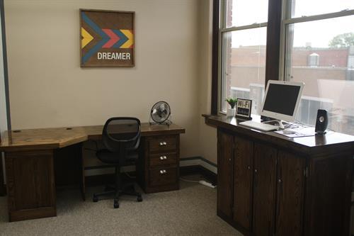 ... and Flex Desks