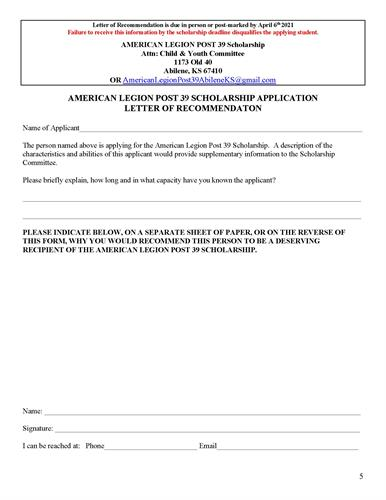 College Scholarship by American Legion Post 39_Page_5