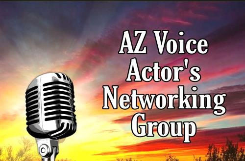 I run a local Facebook group for Voice Over Actors that are just starting out to seasoned pros.