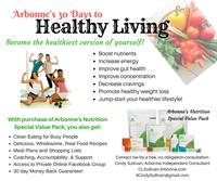30 days to healthy living, 30 days to a new you!