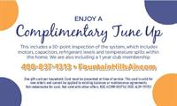 Schedule your complimentary AC Tune Up today and mention the Phoenix Metro Chamber