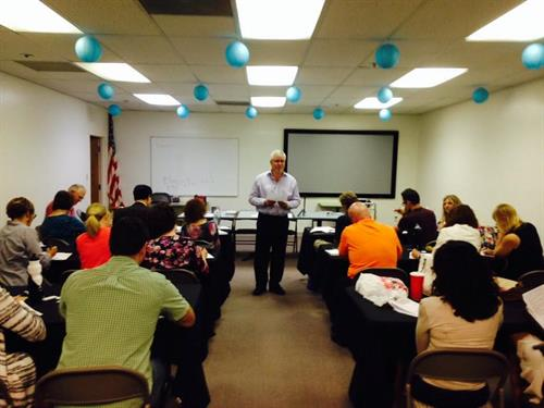 Teaching at Holistic Referral Network