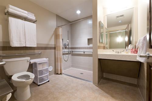 Private Bathroom (ADA access) in each private Bedroom