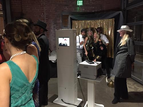 Open Aired Photo booth