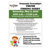 Franconia Township Youth Fishing Derby 2020