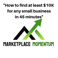 """""""How to find at least $10K for any small business in 45 minutes"""""""