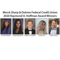 Merck Sharp & Dohme Federal Credit Union Presents Awards to Five High School Seniors