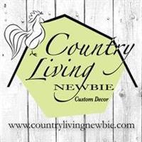 Country Living Newbie Custom Decor Logo