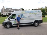 GreenPro Owner and our Carpet Cleaning Van