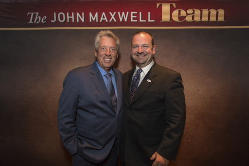 John Maxwell and I while serving on the President's Advisory Council