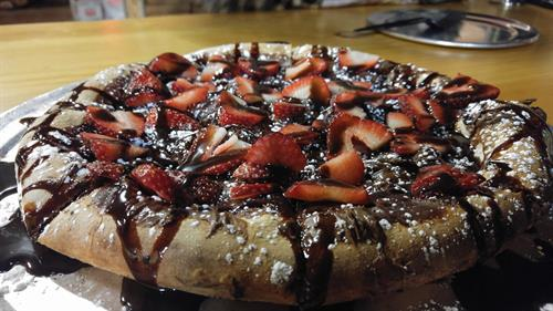 The Battle Ready Dessert Pizza
