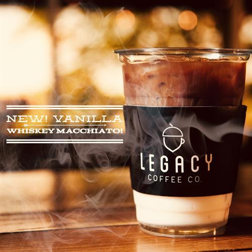 Our New Vanilla Whiskey Macchiato