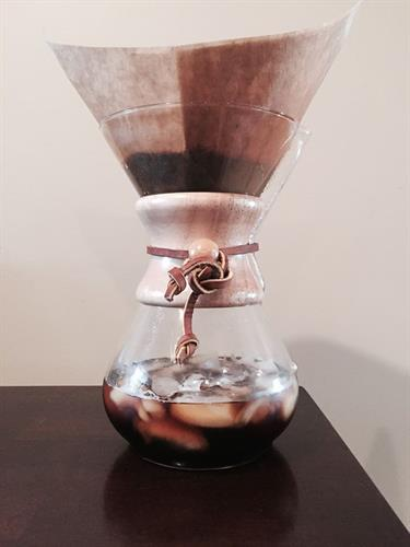 Iced chemex ( summer time favorite!)