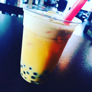 Yes, that IS bubble tea ;)