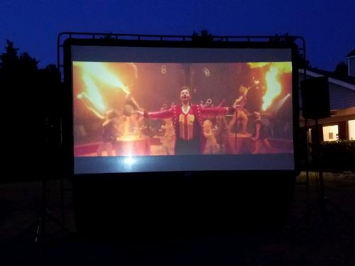 Big Screen Projection