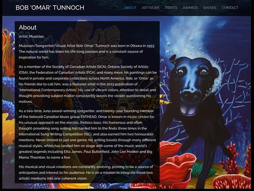 Bob 'Omar' Tunnoch