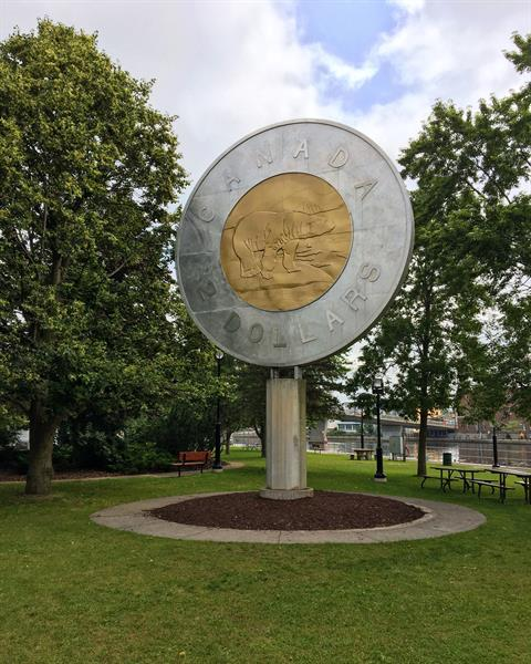 Campbellford, home of the Giant Toonie
