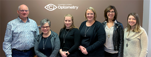 The team at Campbellford Optometry